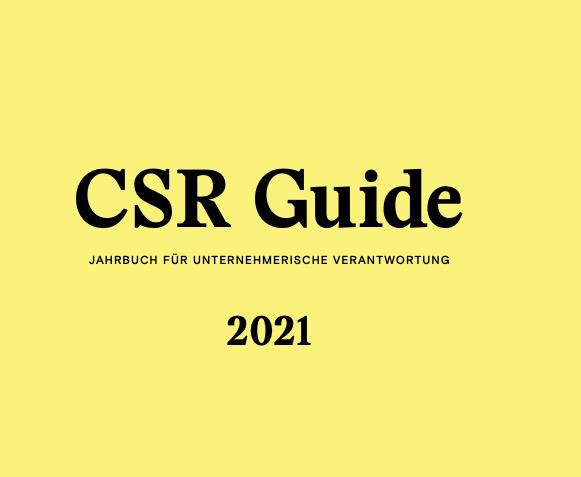 CSR Guide 2021 von Michael Fembek