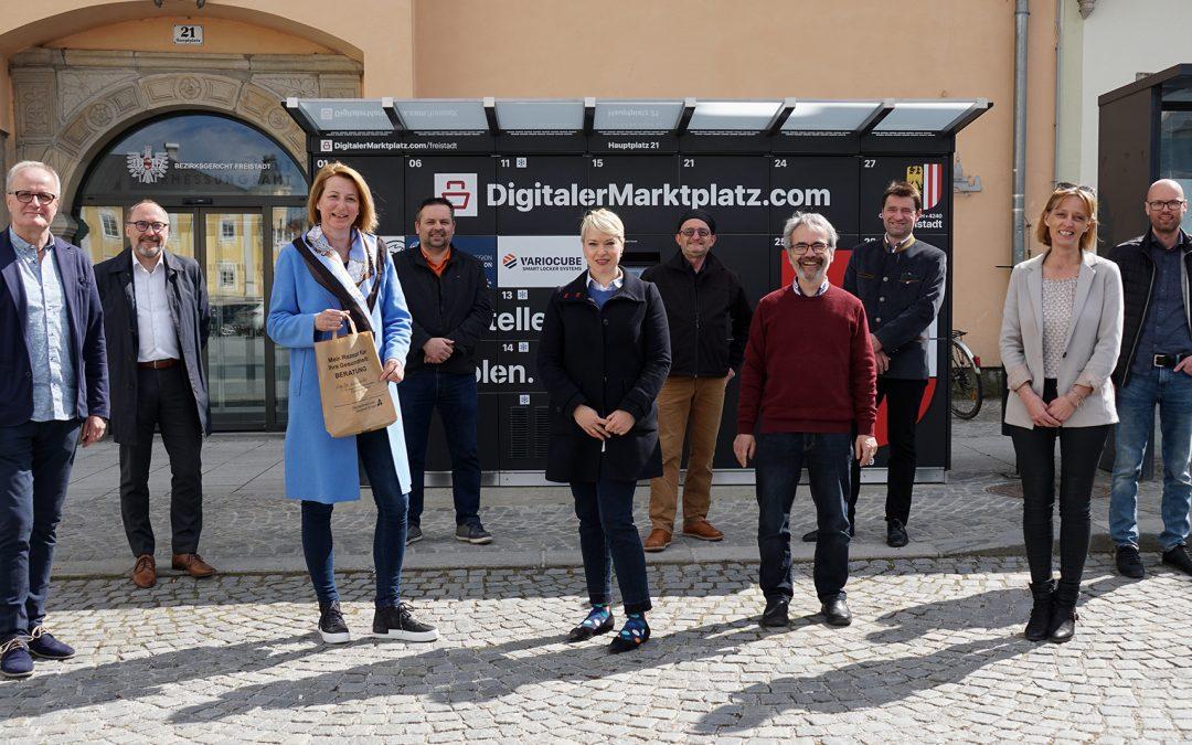 DigitalerMarktplatz.com eröffnet in Freistadt
