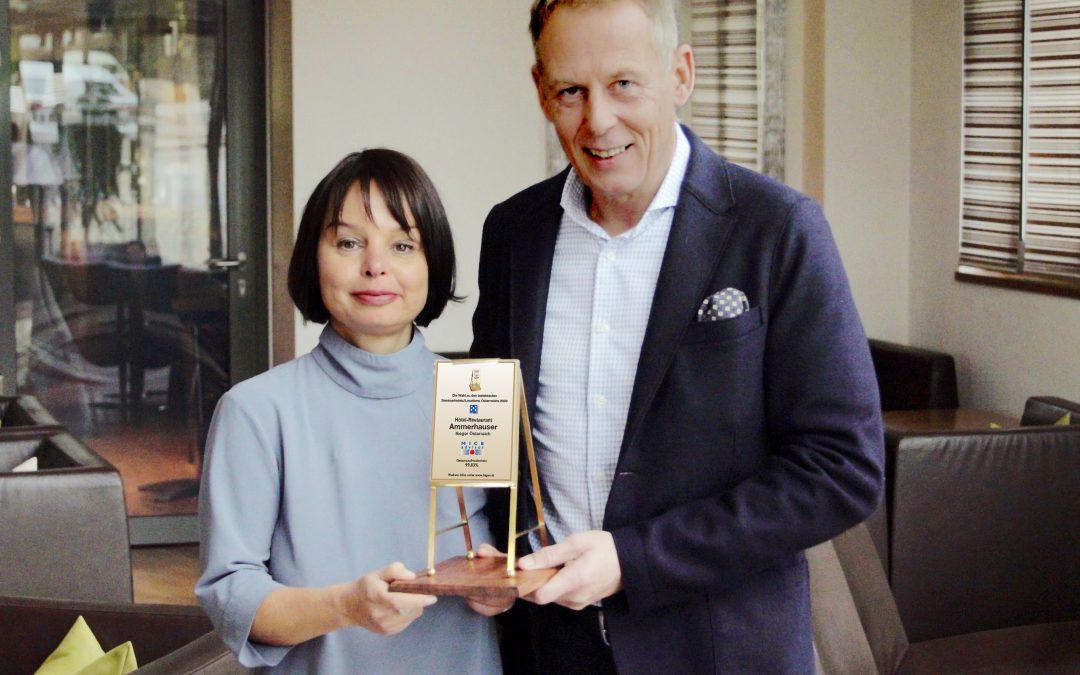 Tagen in Österreich ehrt beste Seminarhotels mit Goldenem Flipchart